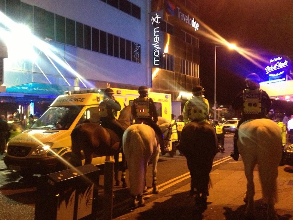 Southend nightclub Mayhem raided by police