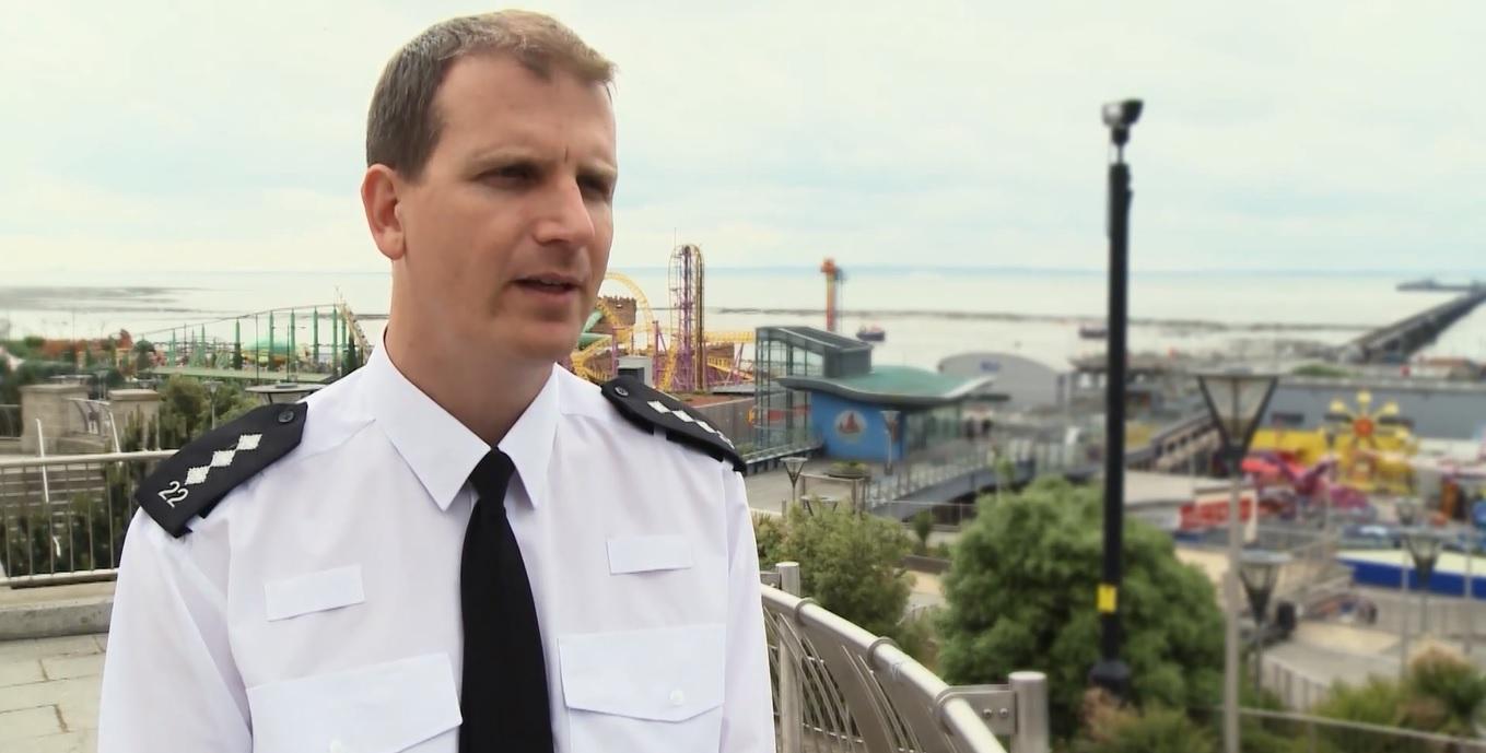 Simon Anslow Southend Police Commander