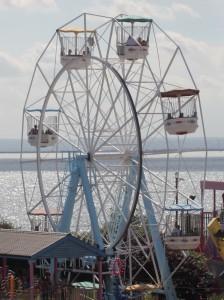 Big wheel at Adventure Island