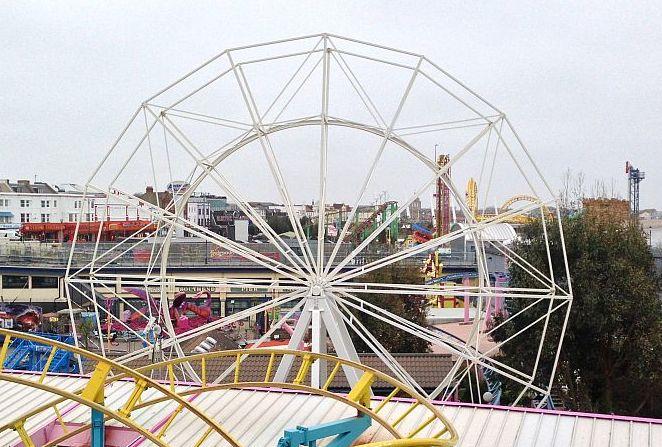 Southend seafront ferris wheel