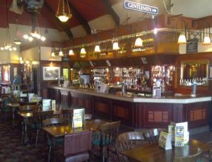 Inside the last post pub Southend